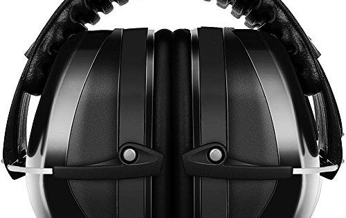 ECHTPower casque antibruit: SNR: 35dB–Niveau de décibels applicable: 110 dB garanti–ANSI S3.19& CE EN521Protection auditive…