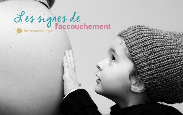Les signes du départ à la maternité !