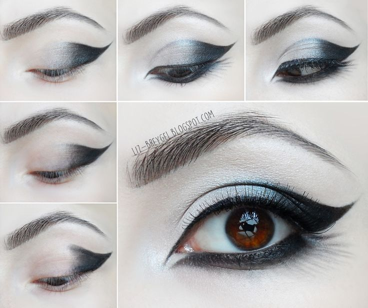 Beauty Angel: Goth Eye Makeup Tutorial