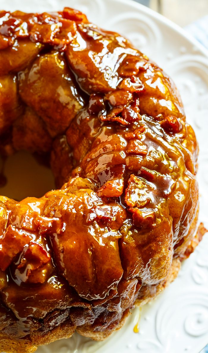 Bacon Maple Monkey Bread is the perfect blend of sweet and savory!
