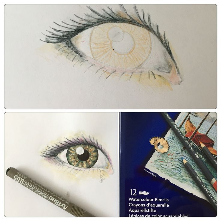 My first try in drawing eyes in meny years