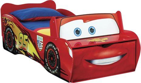 Blixten McQueen, Säng med förvaring Sängar och sängkläder Barnrum Inredning på nätet hos Lekmer.se