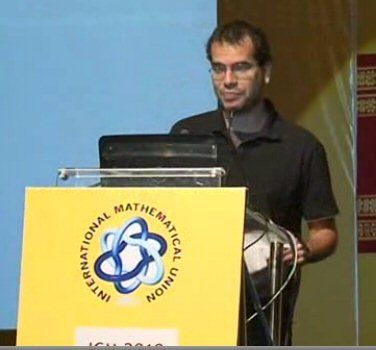Arthur Avila :  2014  Dynamics of Renormalization Operators  http://videos.icm2010.in/player.php?video_id=plenary_lecture_1&exact_match=true&play_from_clip=1%20