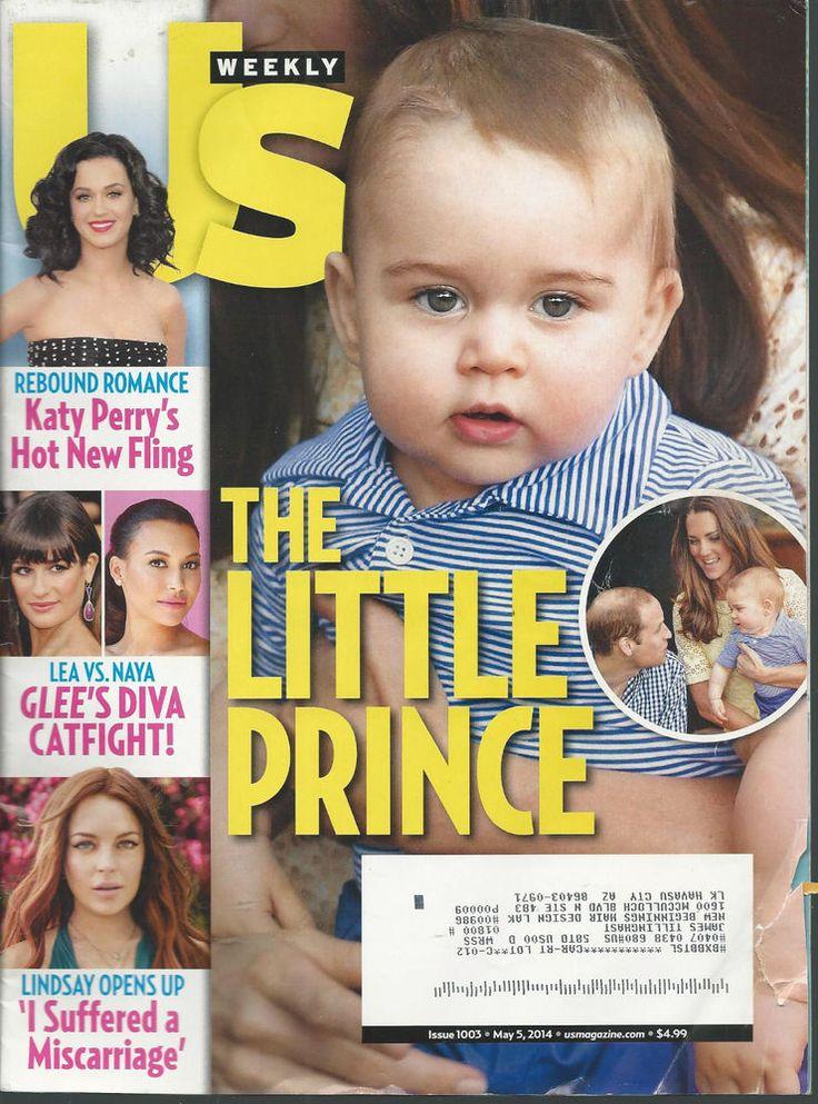 Prince George Kate William Katy Perry Lindsay Lohan US Magazine May 5, 2014