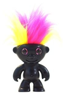 Wowee: ElectroKidz Toy-Matte Black I just love the bright hair-styles. Each one has it's own hairstyle. Just do not let your child pull out it's hair as it will not function after that. http://awsomegadgetsandtoysforgirlsandboys.com/wowwee/ Wowee: ElectroKidz Toy-Matte Black