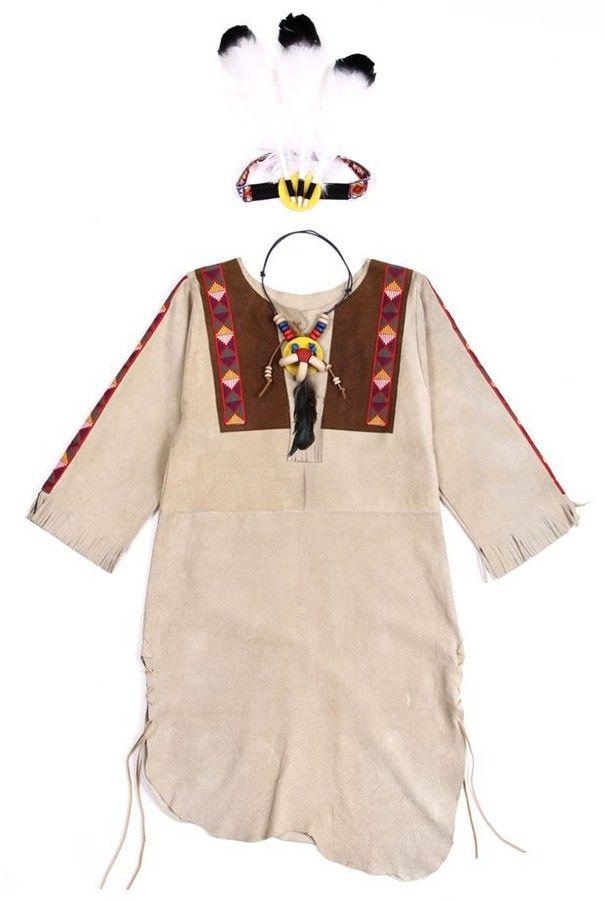 HELGA KREFT Native American Indian costume - Beige