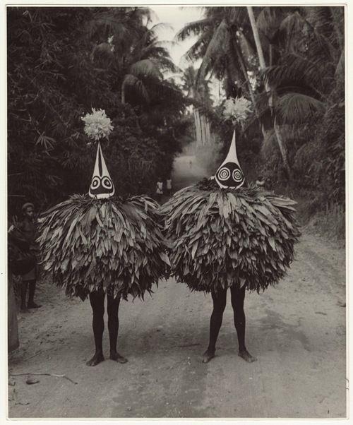 "les-sources-du-nil:  Maxwell R. Hayes ""Duk-Duk Members"", Papua..."