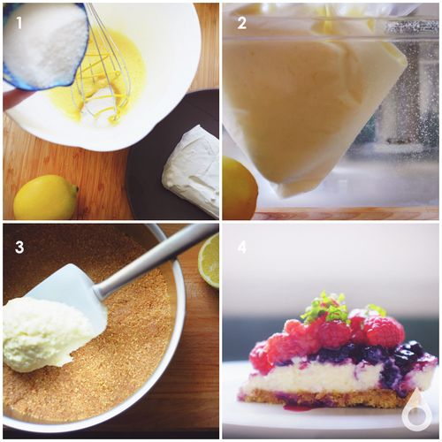 How to Make No-Bake Sous Vide Cheesecake | Nomiku