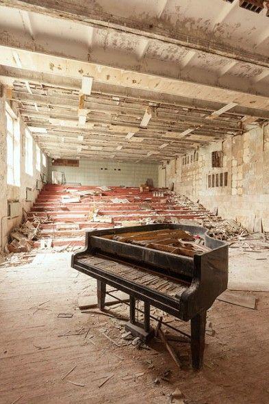 """Musikschule von Prypjat (aus """"Verlassene Orte"""")"""