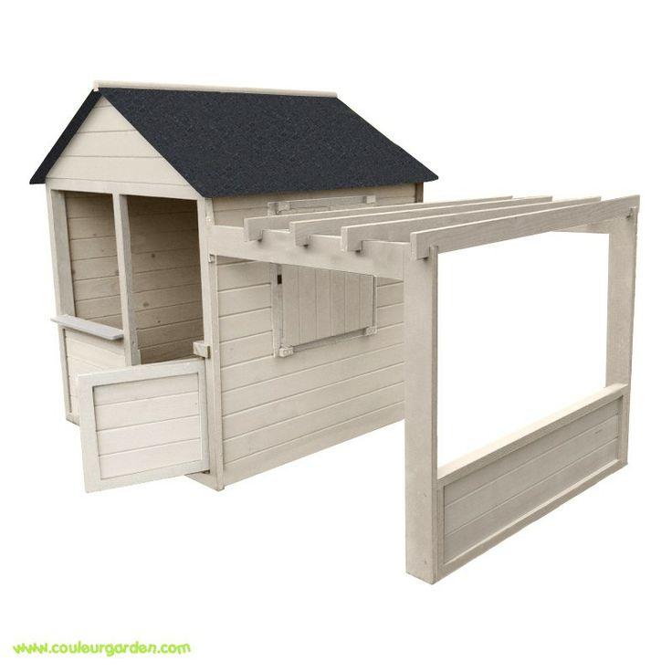 maisonnette jardin avec pergola brute avec toit en goudron couleur garden pour mes pepettes. Black Bedroom Furniture Sets. Home Design Ideas