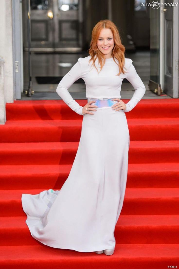Rachel McAdams à la première du film Il était temps (About Time) à Londres, le 8 août 2013.