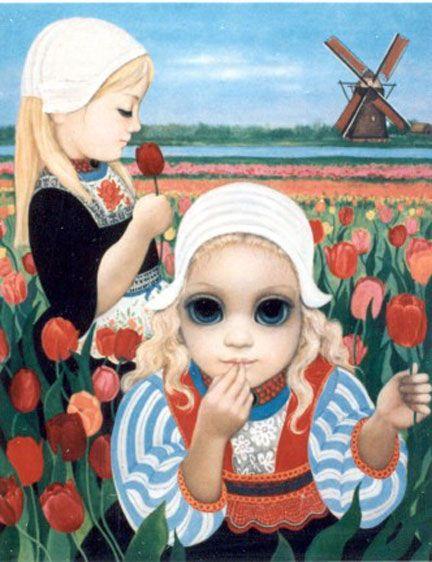Tulips of Holland ... Margaret Keane