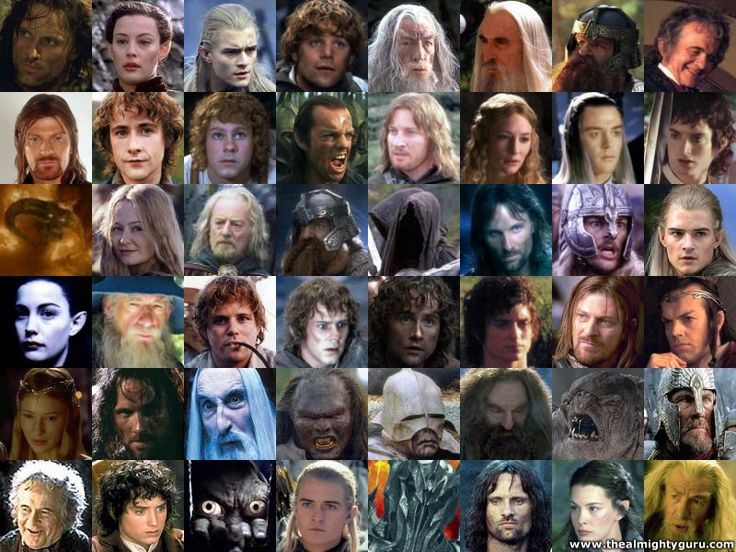 Lord Of The Rings Character Nicknames