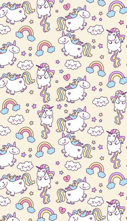 Chubby Unicorn Wallpaper!!!