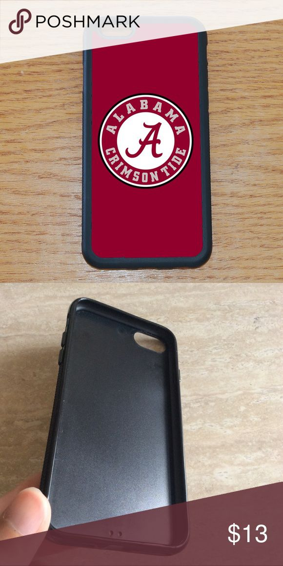 Alabama Crimson Tide iPhone 7 plus 6S 6 plus SE 5C PRICE IS FIRM ! FIRM  Let me know your phone size if you can't find it . I have it available for  iPhone 7 , iPhone 7 plus , iPhone 6 , iPhone 6S , iPhone 6 Plus , iPhone 6S plus , IPhone SE , iPhone 5S, iPhone 5 , iPhone 5C , iPhone 4/4S , IPod Touch 5. Samsung Galaxy Note 5 , Note 4 , Note 3 , Note 2 N7100 , note Edge  Samsung Galaxy S8 , S8 Plus,  S7 , Samsung galaxy S7 Edge , Samsung galaxy S6 , S6 Edge , S6 Edge Plus , Galaxy S5 , S4…