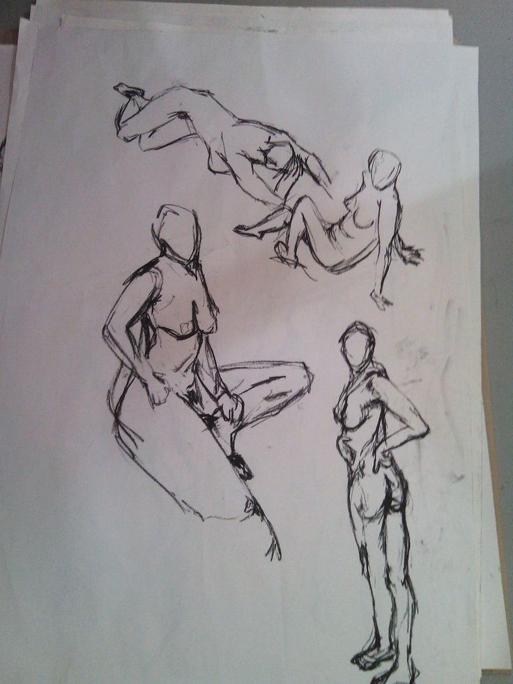 5minute poses. Life drawing with Viky Petermann Rueda - 07 May 2015