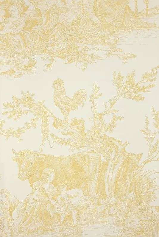 17 best images about wallpapers on pinterest laura - Papel pintado toile de jouy ...