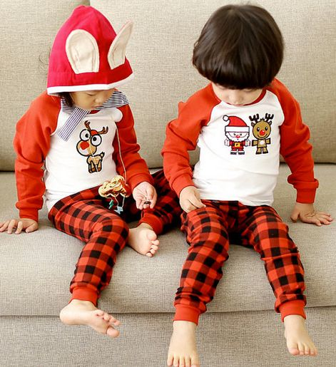 Christmas pajamas are a holiday tradition for many and here are 25 adorable pairs for your little one!