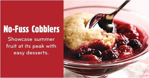 No-Fuss Cobblers & Crumbles Collection: Crumbles Recipes, Crumble Recipes, No Fuss Cobbler, Cobbler Recipes, Recipes Collection, Cooking Com Recipes, Favorite Recipes, Recipe Collection