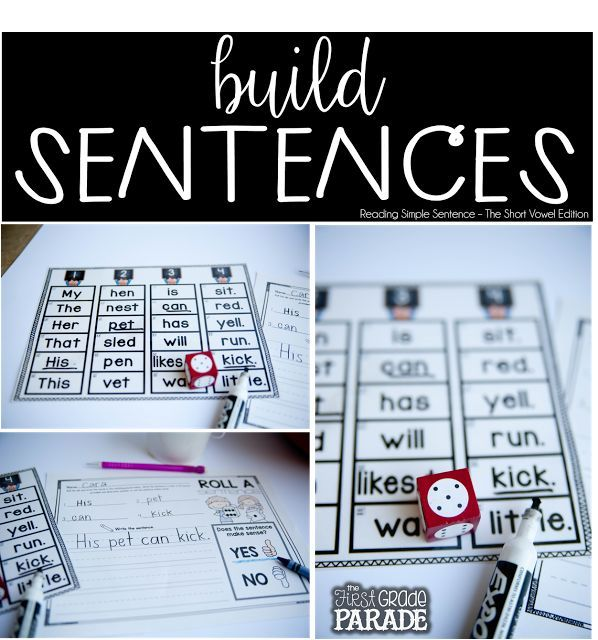 Reading & Writing Simple Sentences