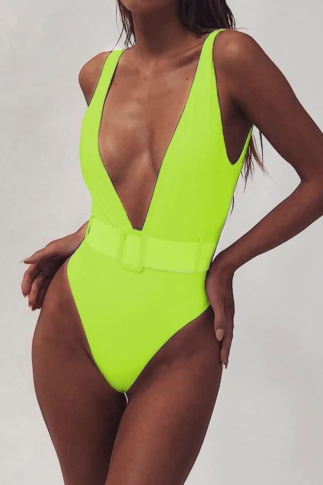 Traje De Bano De Una Pieza Para Mujer Trajes De Bikini Traje De Bano De Bikini Ropa De Moda