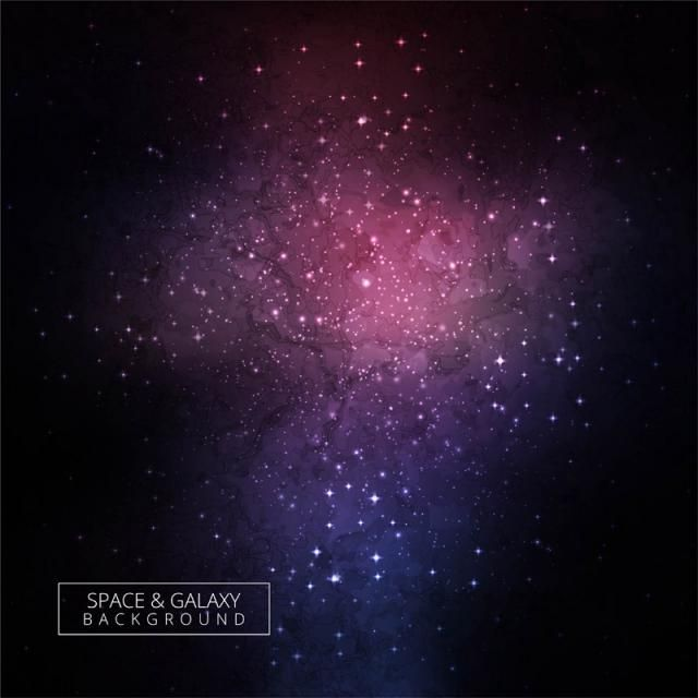 Cosmic Galaxy Colorful Background With Nebula Stardust And Bright Shining Stars Design Galaxy Clipart Abstract Card Png And Vector With Transparent Backgroun Colorful Backgrounds Nebula Cool Colorful Backgrounds