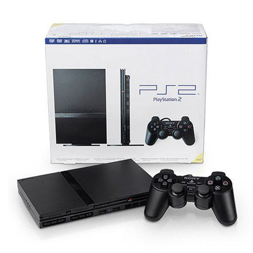 PlayStation 2 Console Slim PS2 http://www.cheapgamesshop.com/playstation-2-console-slim-ps2-2/