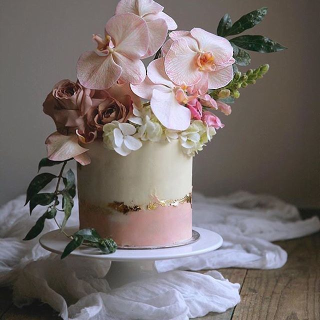 This cake is truly Devine. Who's would have ever thought under that soft pink…