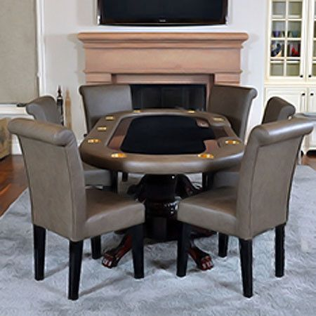 Best 25+ Poker table and chairs ideas on Pinterest | Industrial ...