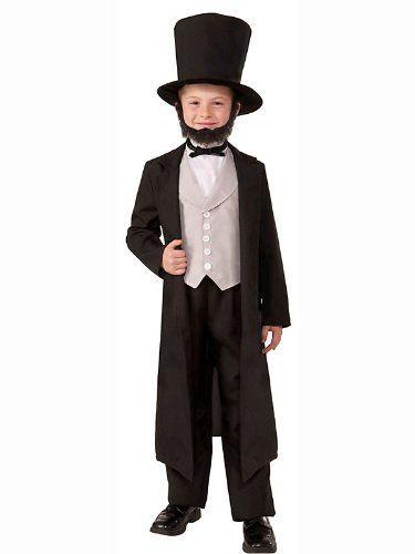 Black Friday Deal Abraham Lincoln Child Costume (Medium) from Forum Novelties Cyber Monday