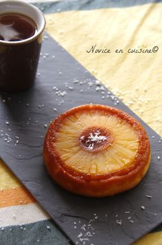 Gâteaux renversés ananas et caramel - Le blog de novice en cuisine