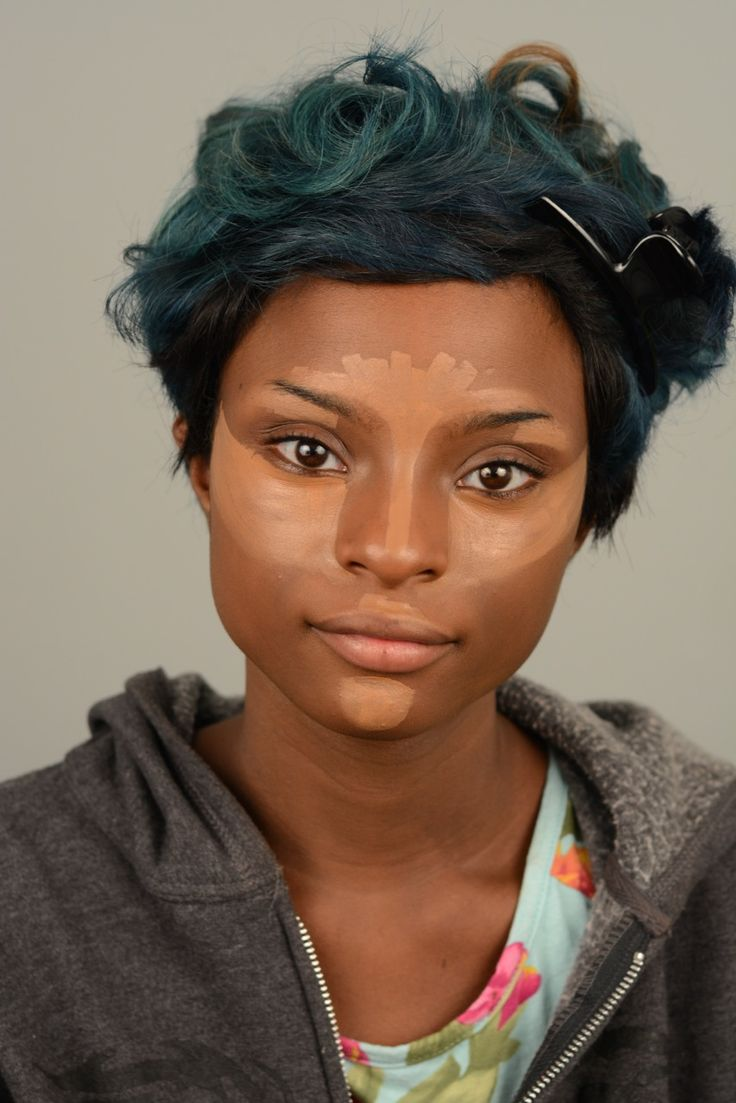 Easy Contouring For Black Women