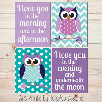 Owl themed room decor