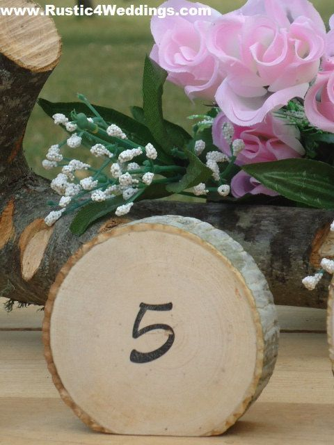 Rustic Wedding Table Numbers Rustic Wood by ChurchHouseWoodworks, $43.95