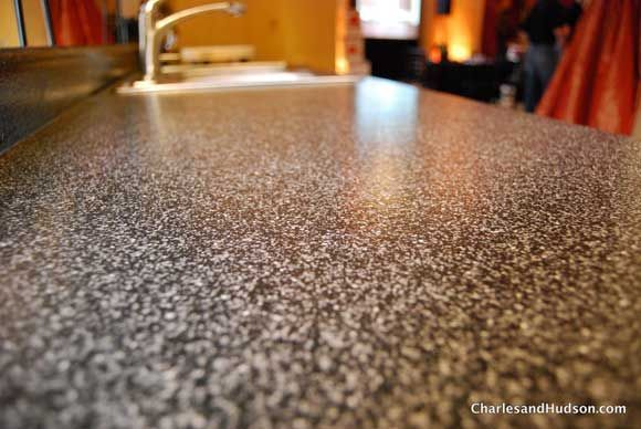 Cheap Kitchen Countertop Design the rust-oleum countertop transformation