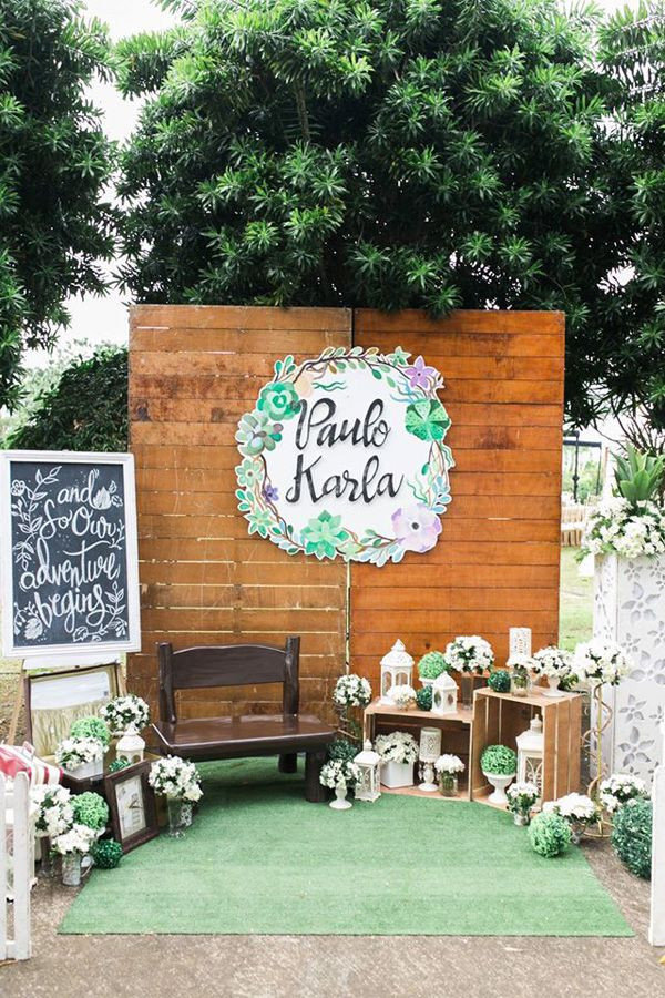 A Romantic Wedding in Laguna with Green and White Details | https://brideandbreakfast.ph/2017/04/12/a-romantic-wedding-in-laguna-with-green-and-white-details/
