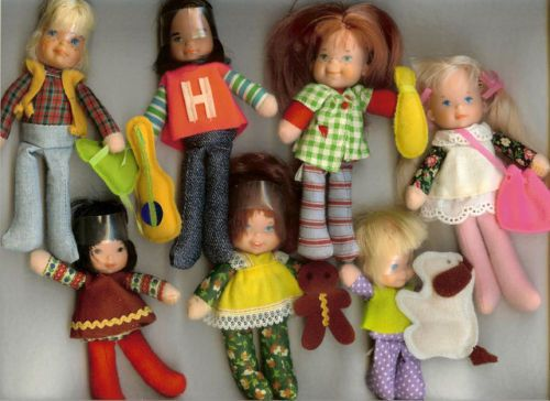 HONEY HILL BUNCH.  Wow I was really young when I had these!  I totally remember them though!