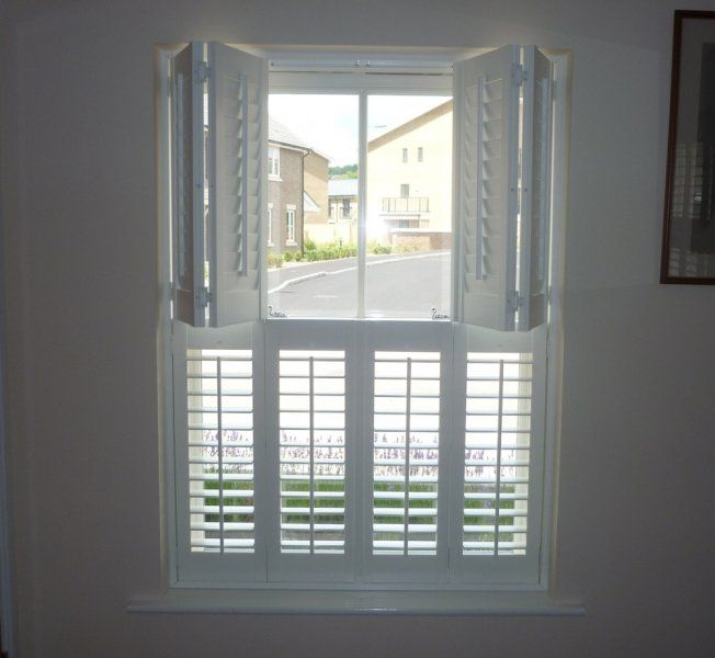 Image of: white window shutters interior ideas