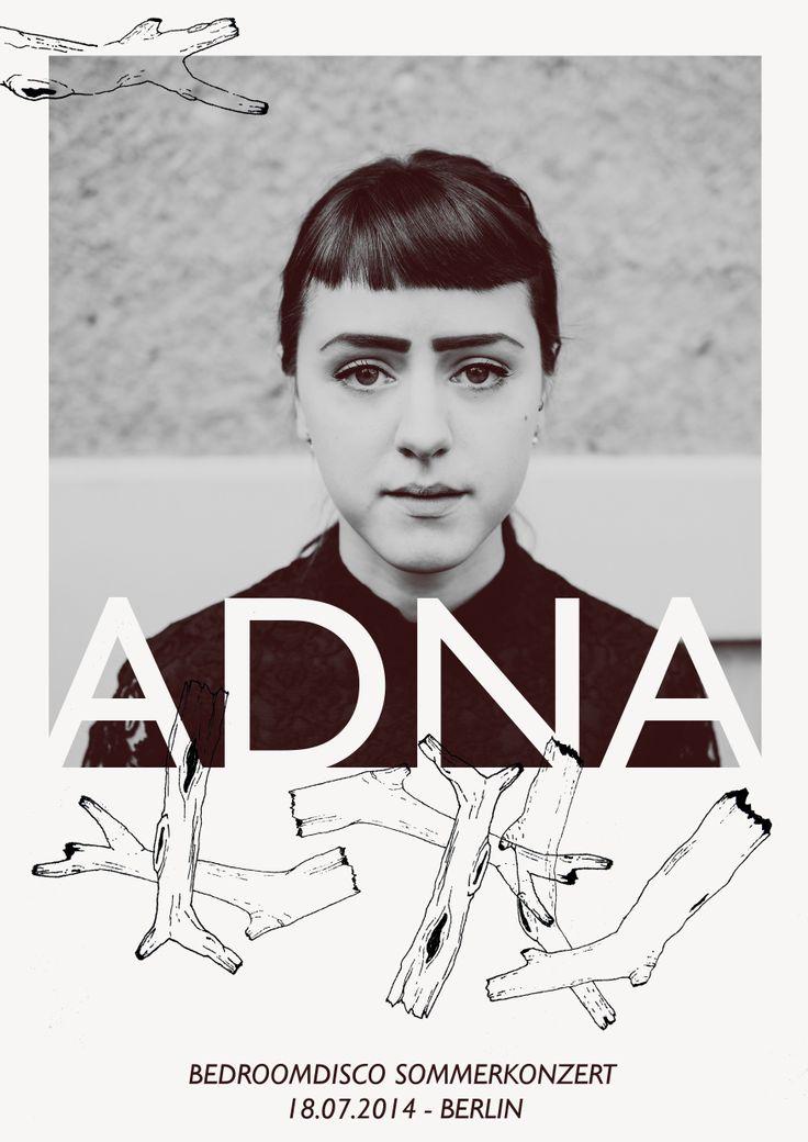 Artwork For ADNA Live At Bedroomdisco