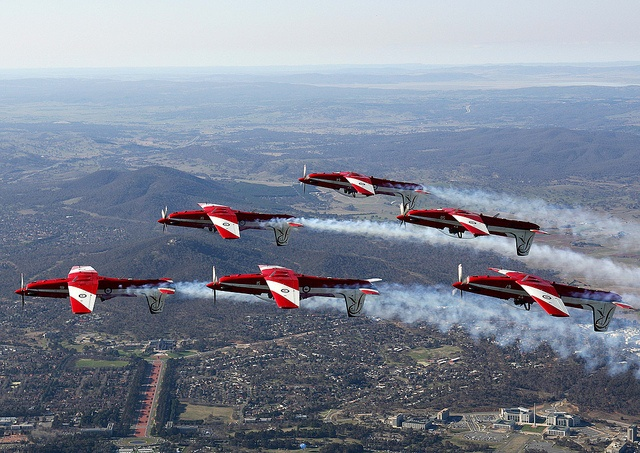 RAAF Roulettes. By Ronnie Bell, via Flickr.
