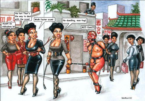 Femdom cartoons by nicole
