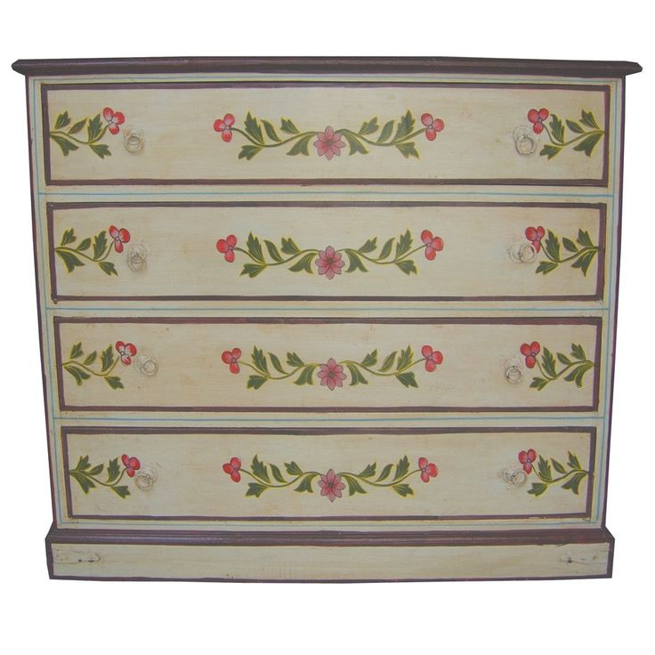 hand painted chest of drawers designs 3