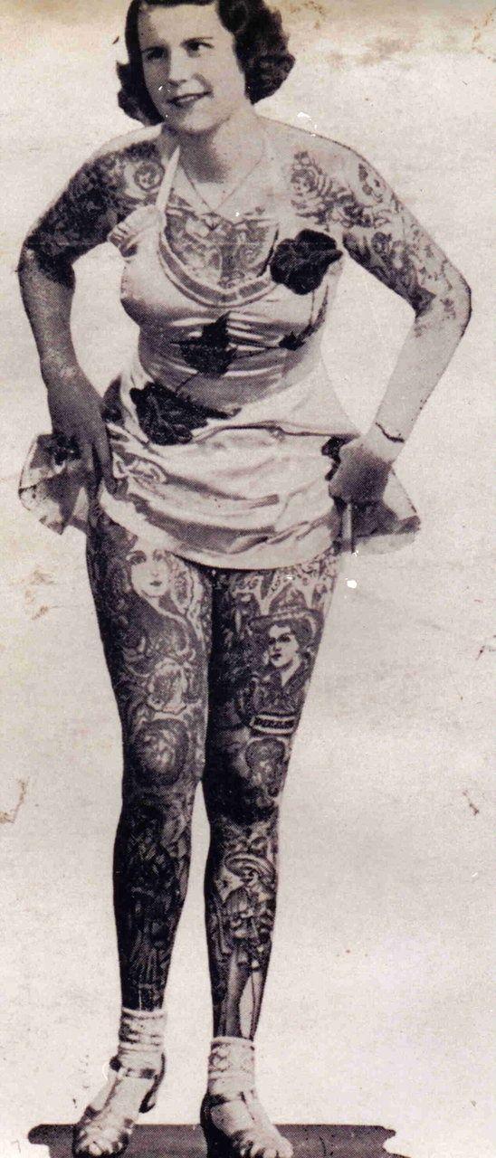 Damas tatuadas Betty Broadbent 05