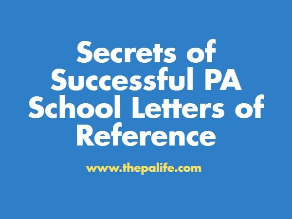 Nursing School Recommendation Letter Sample: 1000+ Ideas About Pa School On Pinterest