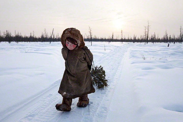 Alessandra Meniconzi. The Nenets are an indigenous tribe living  in Siberia, Russia.