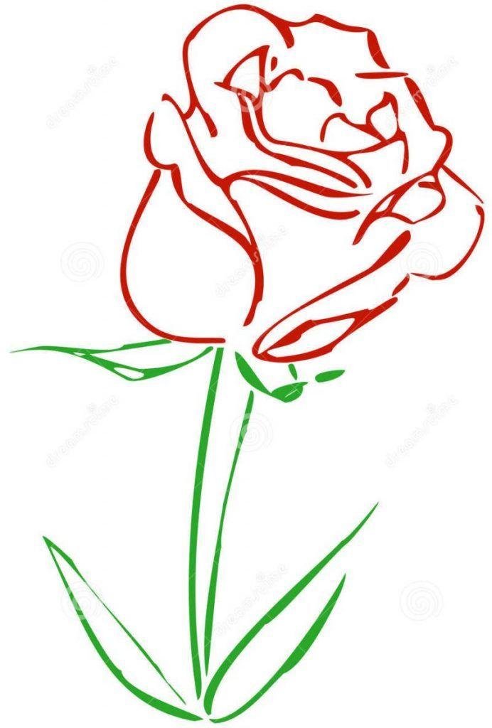 Desenho De Rosas Para Colorir 20 Imagens Para Imprimir Desenho