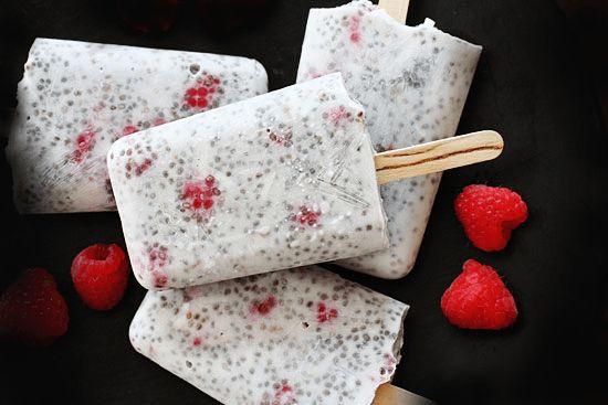 Paletas heladas de coco y chía | Marco Beteta