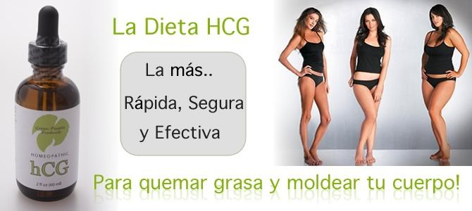la dieta hcg