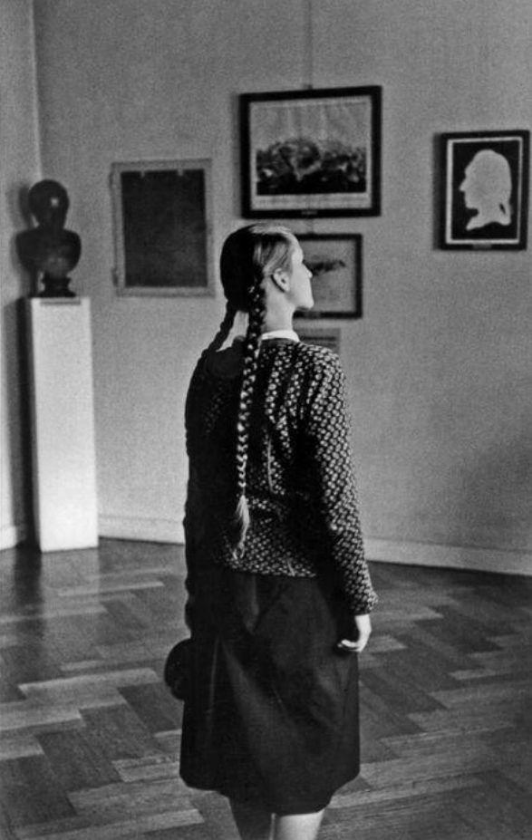 Rene Burri • House of the German poet Johann Wolfgang von Goethe - Weimar Germany 1957