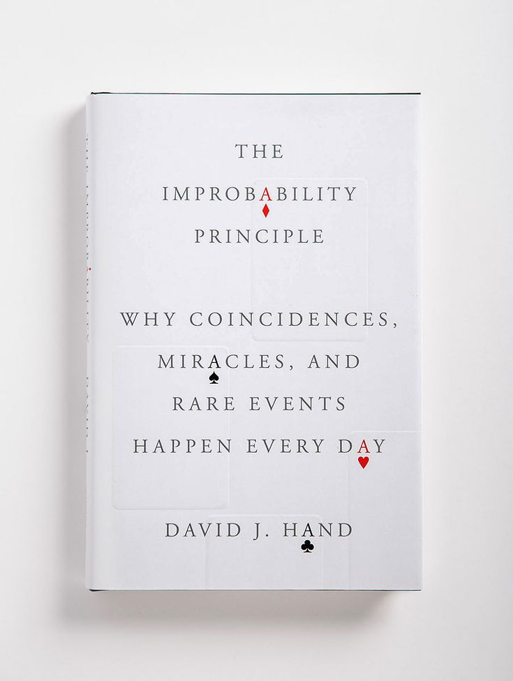 The Improbability Principle: Why Coincidences, Miracles, and Rare Events Happen Every Day Book Cover by Oliver Munday